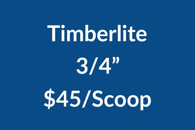 Timberlite .75NEW